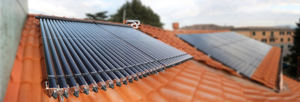 Pannelli solari termici termoidraulica chierici srl for Pannelli termici